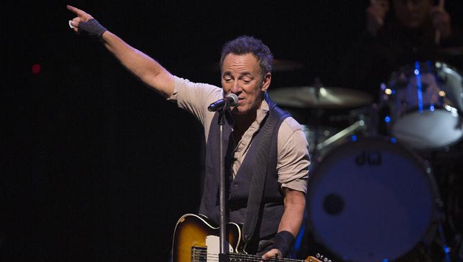 Bruce Springsteen live in Australia in 2017