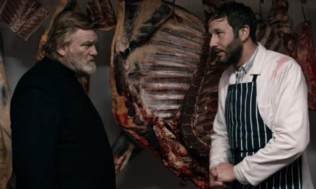 Calvary butcher scene