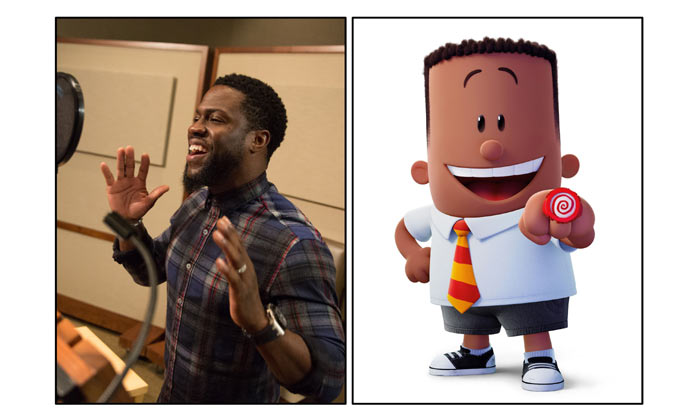 Kevin Hart plays George Beard in Captain Underpants