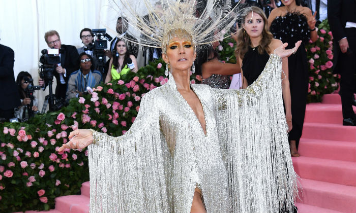 Celine Dion at the Met Gala 2019 / Photo Credit: Doug Petes/EMPICS Entertainment/PA Images