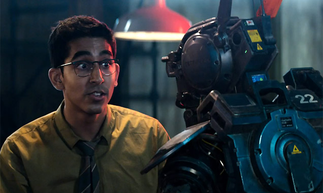 Dev Patel in 'Chappie'