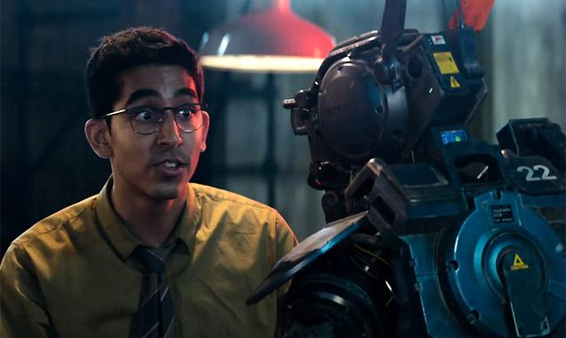 Dev Patel in 'Chappie'