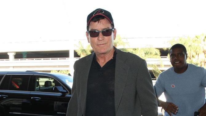 Charlie Sheen in November