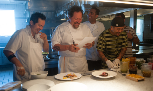 Jon Favreau Food movies