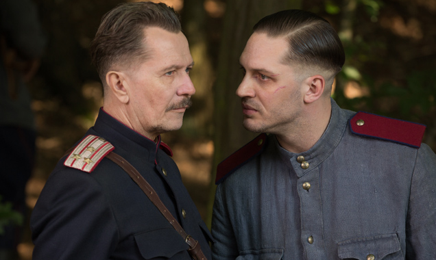 Gary Oldman and Tom Hardy in 'Child 44'