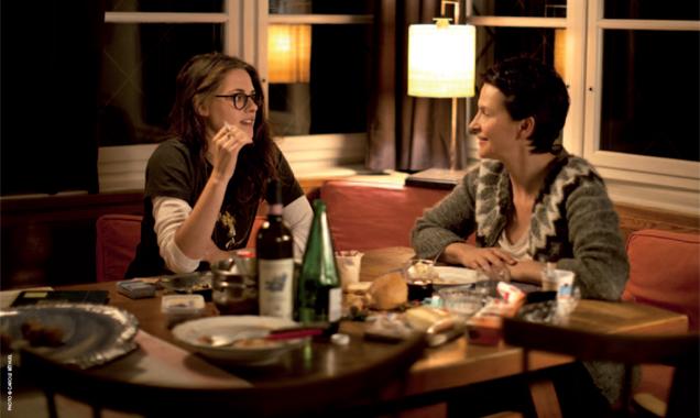 Kristen Stewart & Juliette Binoche star alongside one another