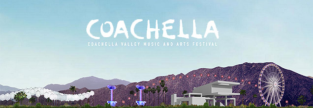 Coachella Festival 2014 Artwork