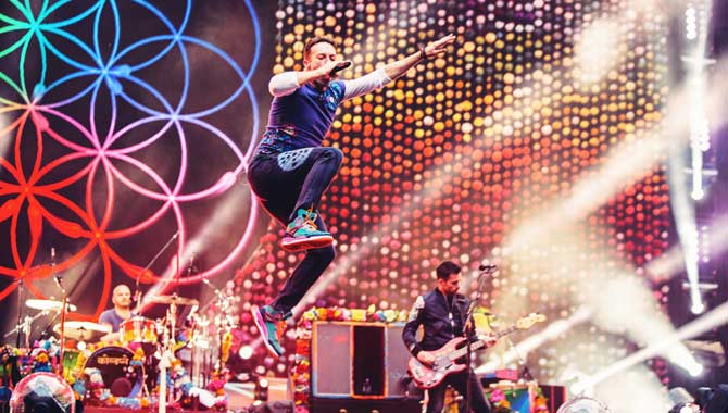 Coldplay Are The Most Streamed Band Of All Time On Spotify