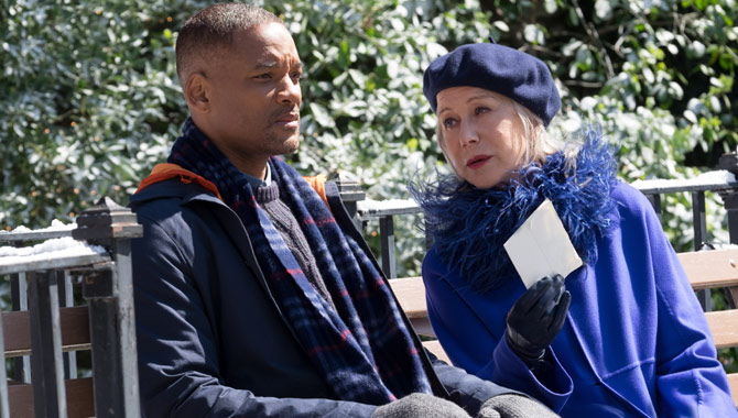 Will Smith Helen Mirren Collateral Beauty