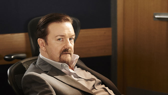 Ricky Gervais Gives David Brent One Last Moment In The Spotlight In 'Life On The Road'
