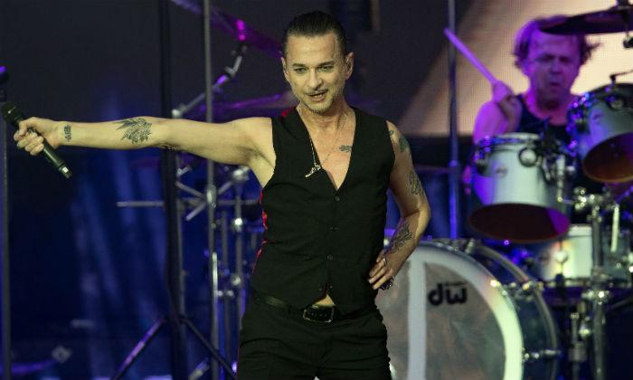 Depeche Mode performing in Berlin in 2018 / Photo Credit: Soeren Stache/DPA/PA Images