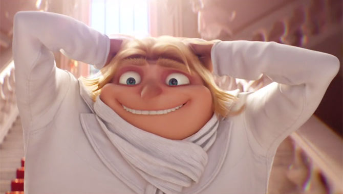 Dru makes an appearance in Despicable Me 3