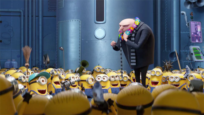 The Minions are eager to return to the dark side