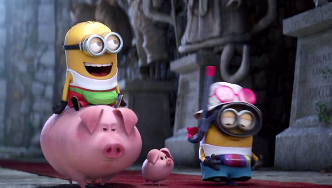 Gru's minions proved their worth in 'Despicable Me 3'