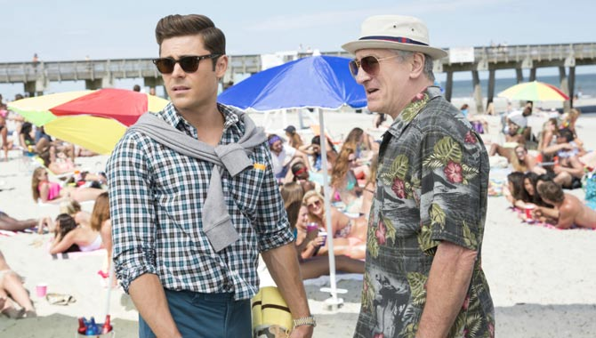 On Dirty Grandpa, Zac Efron Bonded With Idol Robert De Niro