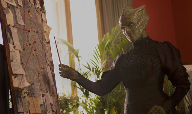 Neve McIntosh as Madama Vastra in 'Doctor Who'