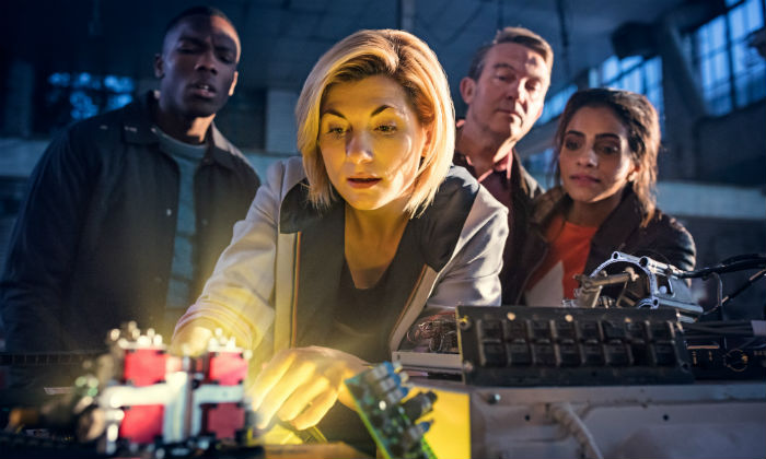 Jodie Whittaker plays the latest incarnation of the Doctor