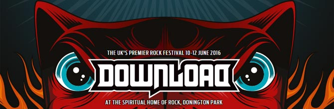 Download Festival 2016 Preview