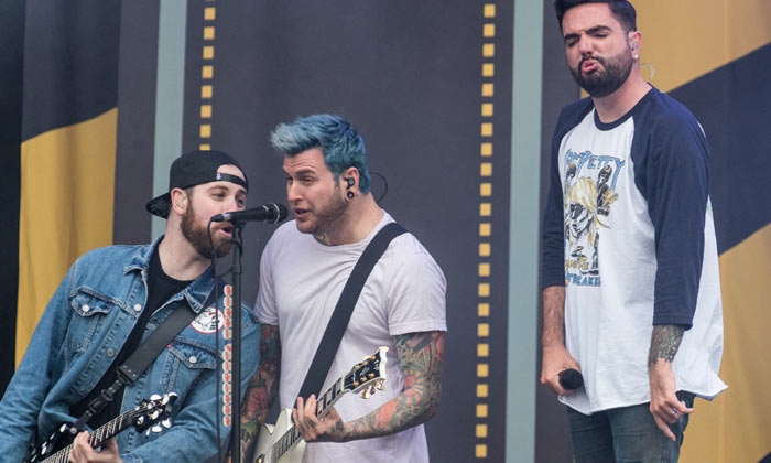 A Day To Remember perform at Download on Saturday