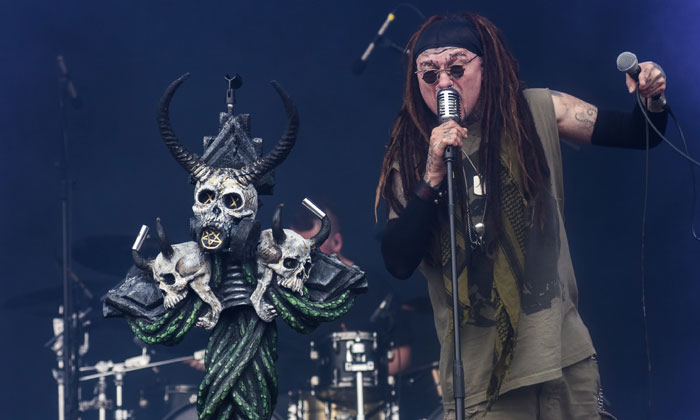 Ministry performed on Saturday's Zippo Encore Stage