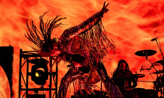 Rob Zombie hit the Zippo stage on Saturday