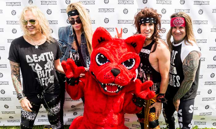 Steel Panther brought fun to Sunday's Download