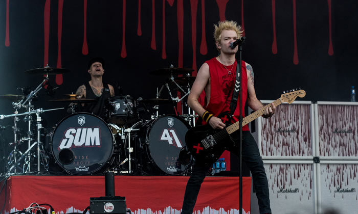 Sum 41 at Download Festival 2017