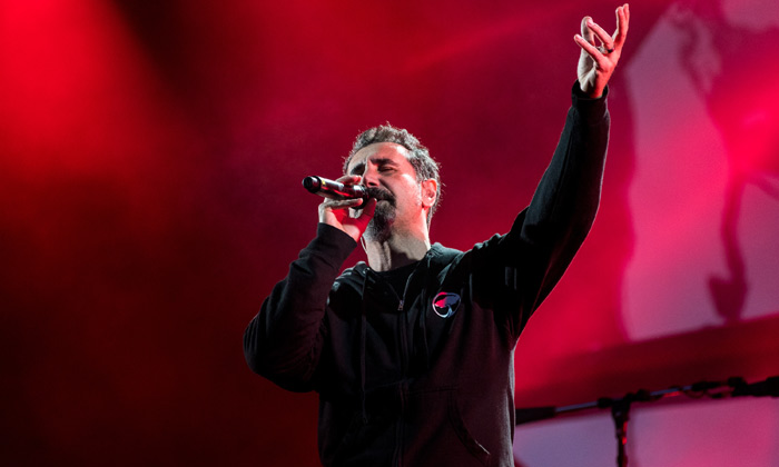 System of a Down headline Download's main stage on Friday