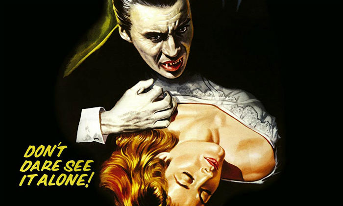Peter Cushing played Dracula in the 50s