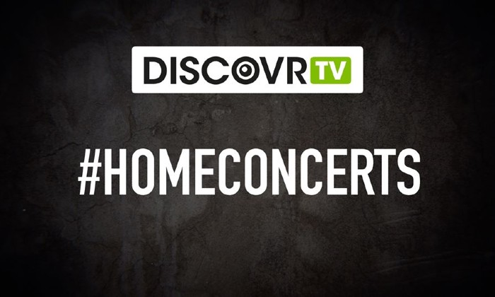 Watch live shows everyday with DiscovrTV's #HomeConcerts series