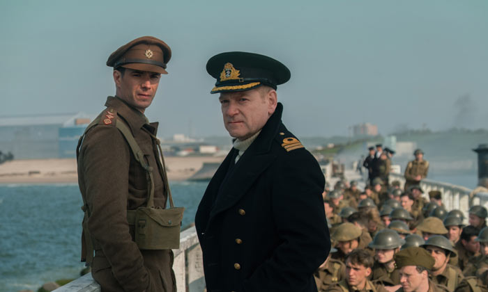 James D'Arcy and Kenneth Branagh in 'Dunkirk'