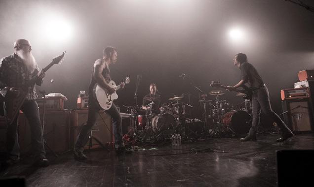 Eagles of Death Metal perform in Paris