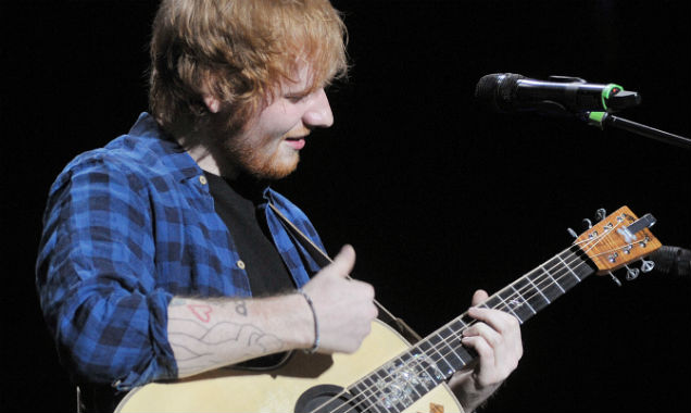 Ed Sheeran performs live in Italy