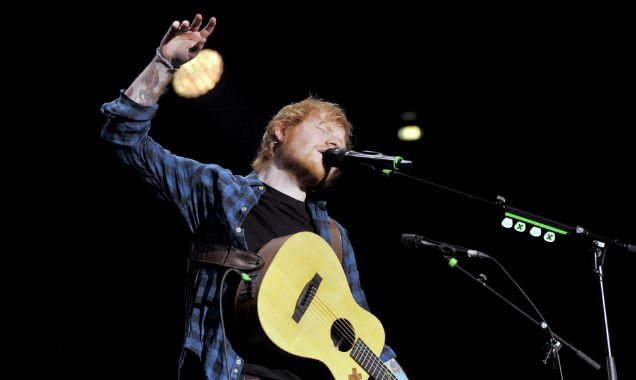 Ed Sheeran live in Milan