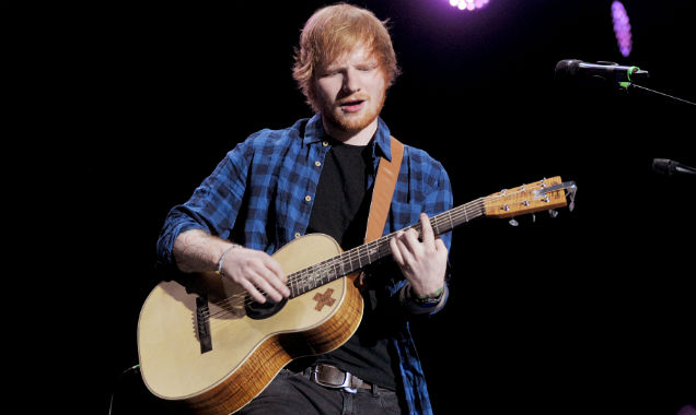 Ed Sheeran performs live in Milan