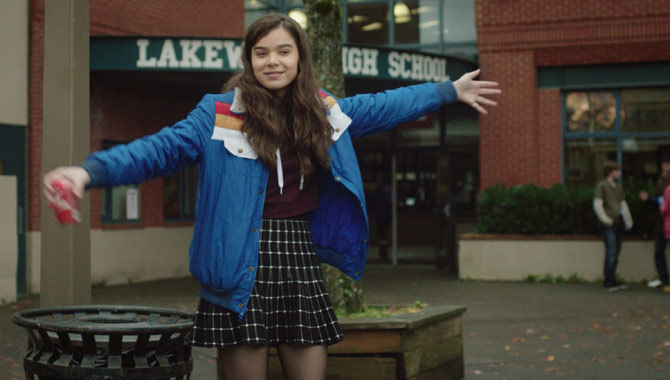 Hailee Steinfeld Saw Herself In The Edge Of Seventeen
