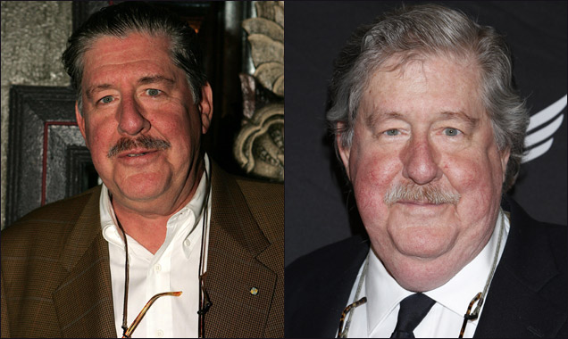 Edward Herrman in 2005 and 2014