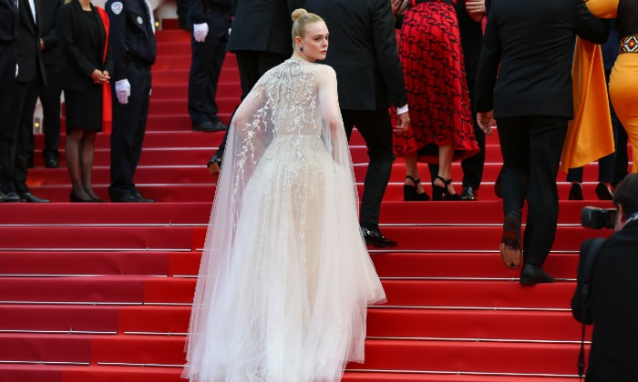 Elle Fanning at Cannes Film Festival 2019 / Photo Credit: Zhang Cheng/Xinhua News Agency/PA Images