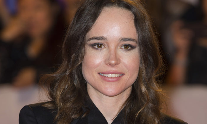 Ellen Page pictured at the Toronto International Film Festival