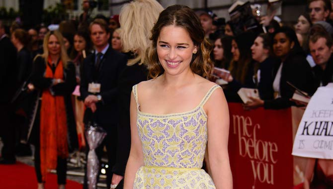 Emilia Clarke Loved Smiling For Change In Me Before You