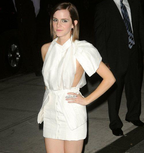 Emma Watson at 'The Perks of Being a Wallflower' New York Premiere