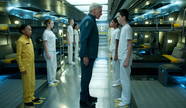 Harrison Ford Asa Butterfield Ender's Game