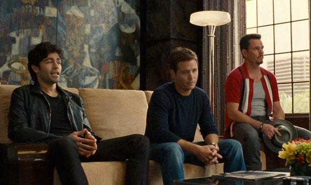 Adrian Grenier, Kevin Connolly and Kevin Dillon star in 'Entourage'
