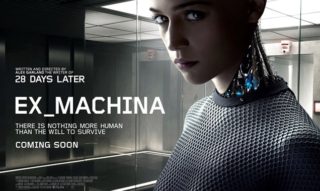 'Ex_Machina' comes from writer/director Alex Garland