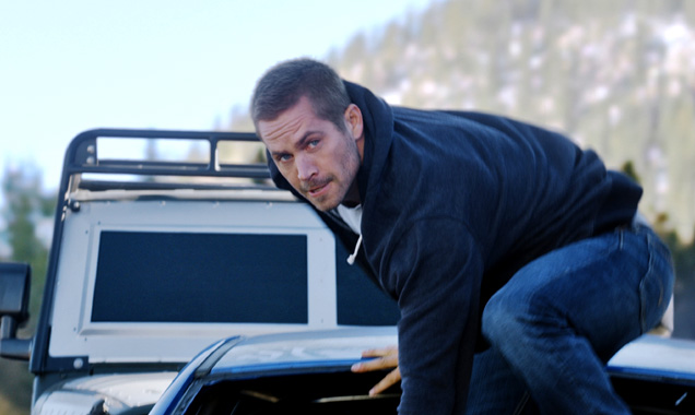 Paul Walker as Brian O'Conner in 'Furious 7'