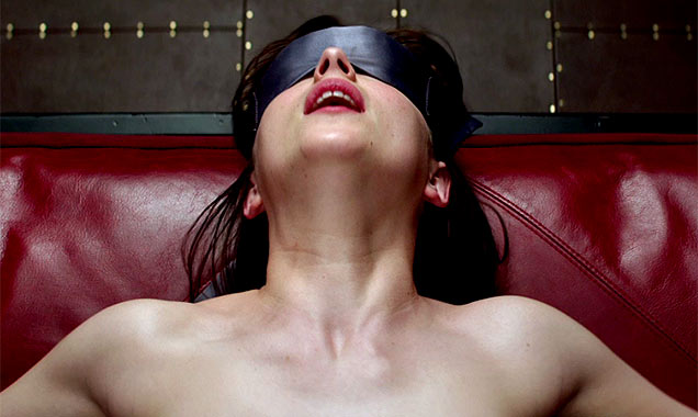 Dakota Johnson in 'Fifty Shades Of Grey'