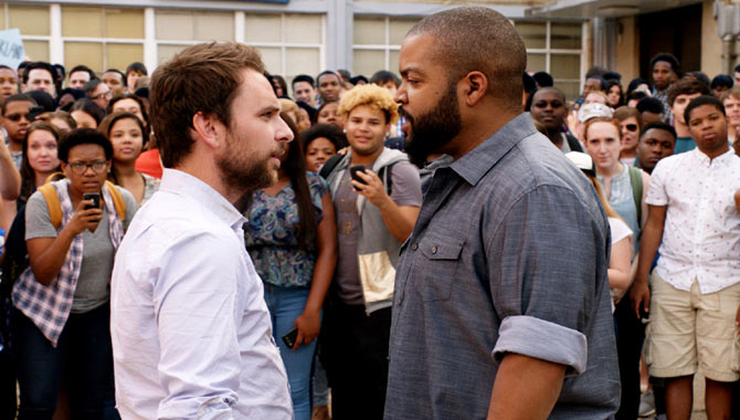 Ice Cube Worked To Create An Epic Fist Fight