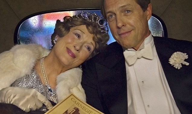 Meryl Streep and Hugh Grant in Florence Foster Jenkins