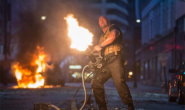 Dwayne Johnson in 'Furious 7'