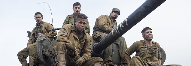 Brad Pitt & Co in Fury